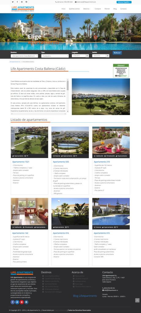 Diseño de páginas Web para empresas - Cádiz - España