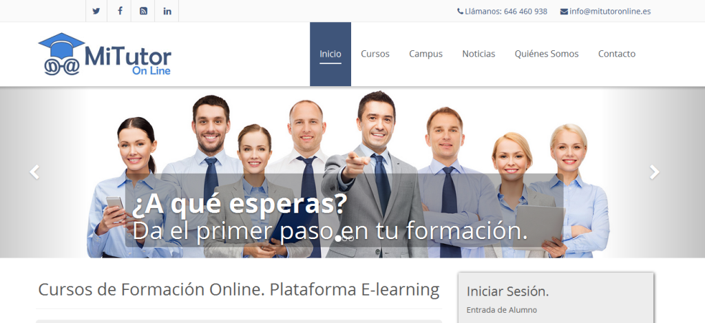Plataforma e-learning Eforma - Cádiz