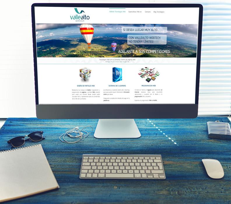 Empresas de diseño Web en España - Portales corporativos administrables.